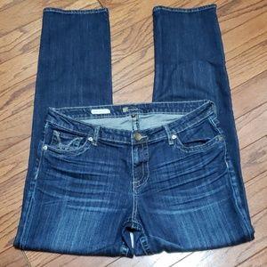 KFTK - Stevie Straight leg jeans- EUC
